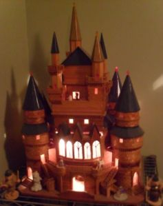"My grandfather made me this castle/dollhouse because ""every princess should have a castle."" Miss you, Gpa!"